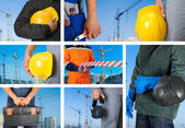 Conjunto de los trabajadores — Foto de Stock