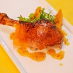 Roast duck — Stock Photo