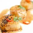 Stock Photo: Scallop