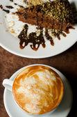 Coffe dessert — Stock Photo