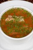 рыбный суп — Стоковое фото