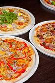 ピザ セット — ストック写真