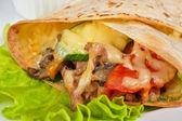 Burrito — Stockfoto