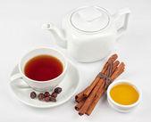 Berries tea — Stock Photo