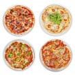 Pizza set — Stock Photo