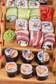 Sushi roll set — Stock Photo