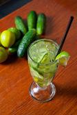 Gurke-limonade — Stockfoto