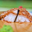 Stock Photo: Sushi unagi
