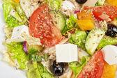 Greek salad — Stockfoto