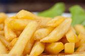 Batatas fritas batatas douradas — Fotografia Stock