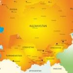 Central Asia — Stock Vector #34883411