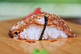 Sushi unagi — Stock Photo
