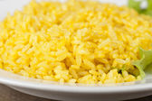 Golden rice — Stock Photo