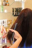 Coupe de cheveux — Photo