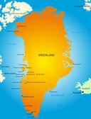 Groenlandia — Vector de stock