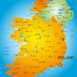 Ireland — Stock Vector