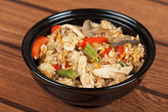 Rice chicken vegetable — Foto Stock