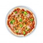 Seafood pizza — Stock Photo