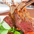 Roasted lamb rib — Stock Photo