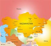 Kasachstan — Stockvektor