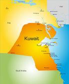 Kuwait — Stock Vector