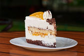 Kawałek ciasta — Zdjęcie stockowe