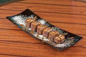 Schokolade roll — Stockfoto