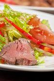 Beef salad — Стоковое фото