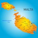 Malta country — Stock Vector #46268355