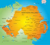 Northen Ireland — Stock Vector