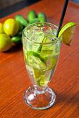 Cucumber lemonade — Stock Photo