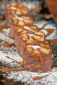 Rotolo al cioccolato — Foto Stock