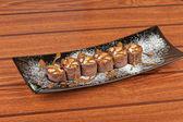 Chocolate roll — Stock Photo