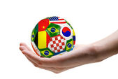 Football soccer ball — Foto de Stock