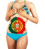 Portugal girl — Stockfoto