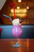 桜のミルクセーキ — ストック写真