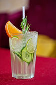 Non-alcoholic mohito — Stock Photo
