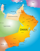 Oman country — Stock Vector