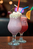 Cocktails milkshake — Stock Photo