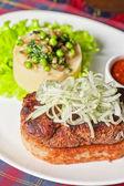 изысканные стейк мясо — Стоковое фото