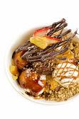 Ice cream desserts — Stock Photo