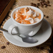 Coffee capuccino — Stock Photo