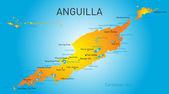 Anguilla territory — Stock Vector