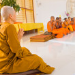 Buddhist Nun — Stock Photo