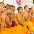 Stock Photo: Monks Chanting