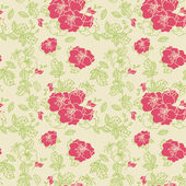 Seamless line Rose Pattern — Stock Photo