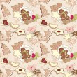 Royalty-Free Stock Vector Image: Winter cookies pattern