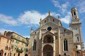 Cattedrale di verona — Foto Stock