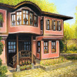 Old House in Koprivshtica — Stock Photo