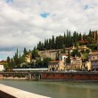 Verona, view toward Castel San Pietro — Stock Photo #16040563
